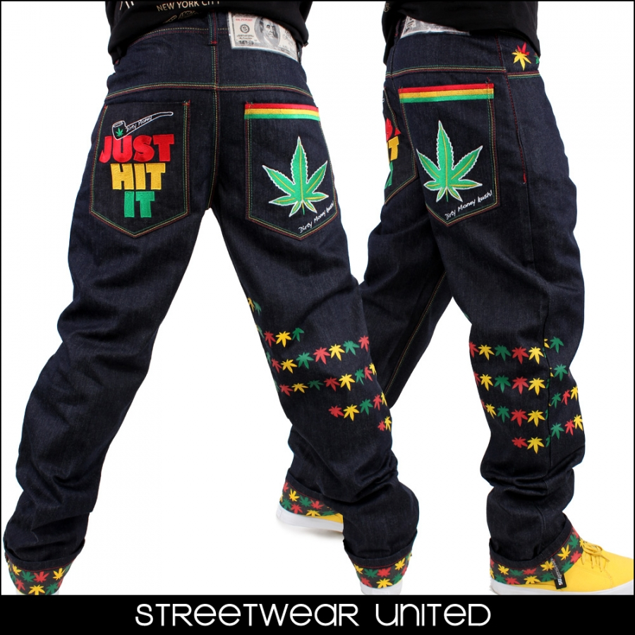 Weed socks outfit for men